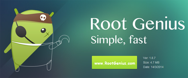 Click to view Root Genius 1.8.7 screenshot